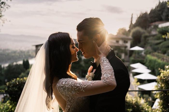 Vogue-Inspired Fairytale Italian Wedding on Kara's Party Ideas | KarasPartyIdeas.com (10)