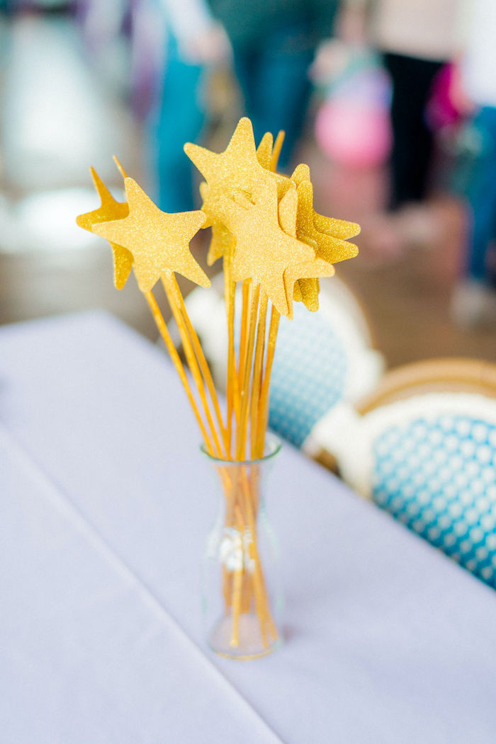 Star Wands from a Wonder Woman Inspired 1st Birthday Party on Kara's Party Ideas   KarasPartyIdeas.com (36)