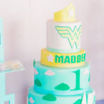 Wonder Woman Inspired 1st Birthday Party on Kara's Party Ideas | KarasPartyIdeas.com (2)