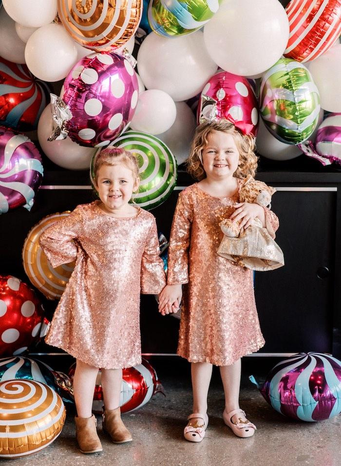 """FOUR the Love of Sugar"" 4th Birthday Party on Kara's Party Ideas | KarasPartyIdeas.com (19)"