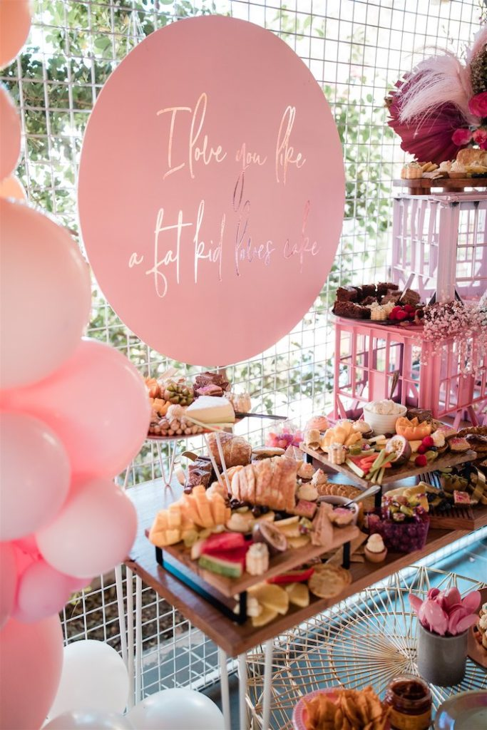 """Glam Grazing Table from an """"I'm Sassy and I know it"""" Girly Glam 5th Birthday Party on Kara's Party Ideas   KarasPartyIdeas.com (41)"""