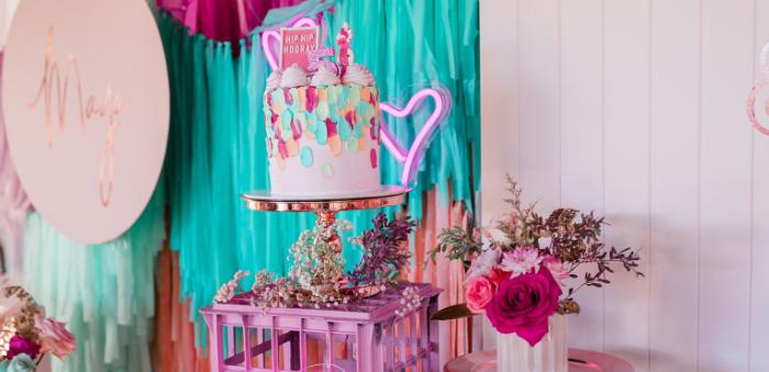 """I'm Sassy and I know it"" Girly Glam 5th Birthday Party on Kara's Party Ideas | KarasPartyIdeas.com (3)"