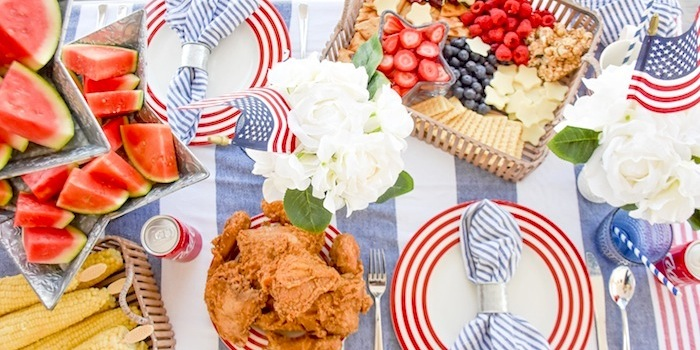 4th of July BBQ Bed Bath Beyond by Kara's Party Ideas