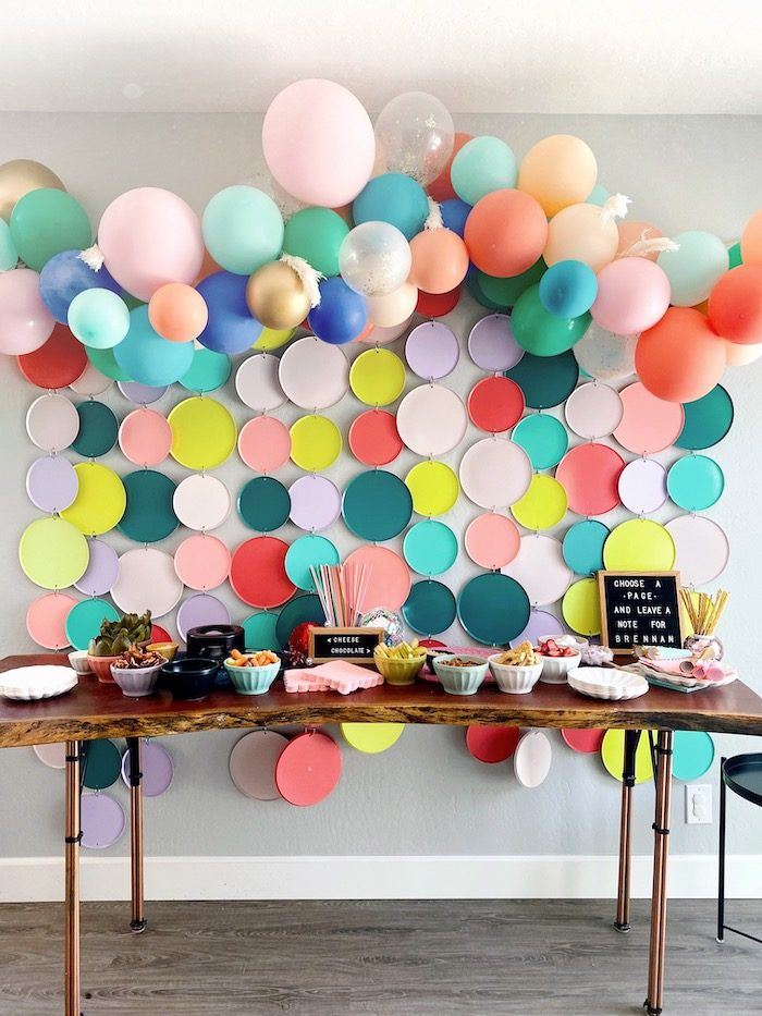 Anthropologie-inspired Party Table from an Anthropologie Inspired Bohemian Birthday Party on Kara's Party Ideas | KarasPartyIdeas.com (39)