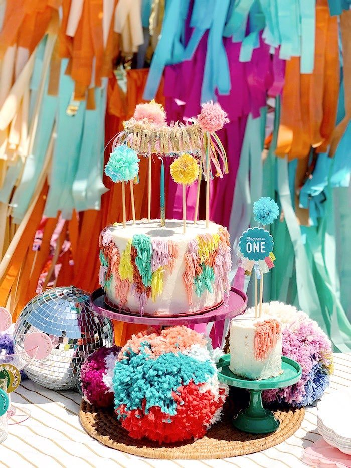 Colorful Bohemian Dessert Table from an Anthropologie Inspired Bohemian Birthday Party on Kara's Party Ideas | KarasPartyIdeas.com (36)