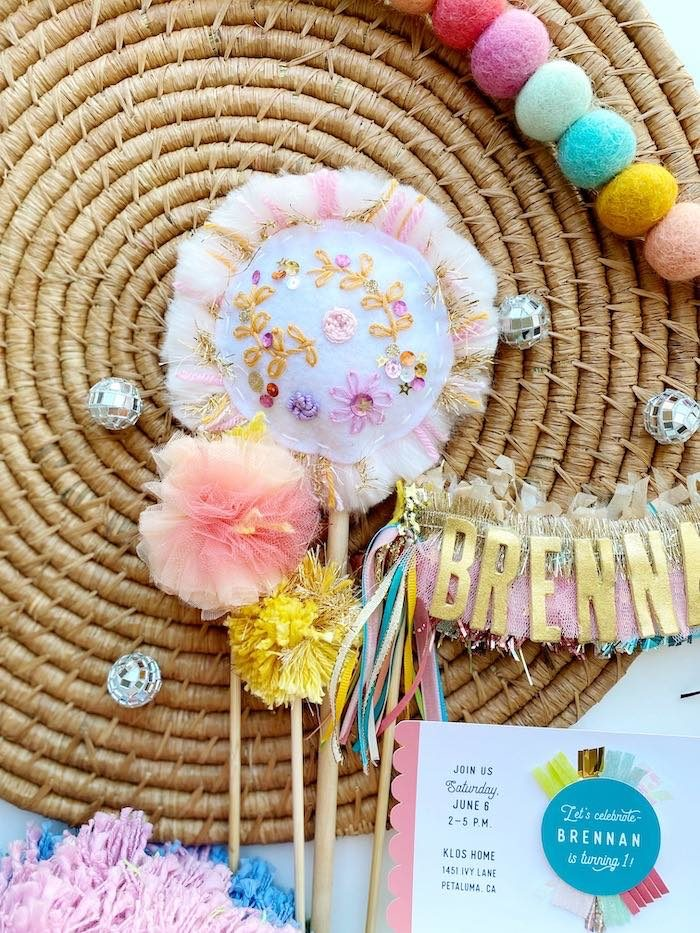 Anthropologie Inspired Bohemian Birthday Party on Kara's Party Ideas | KarasPartyIdeas.com (51)