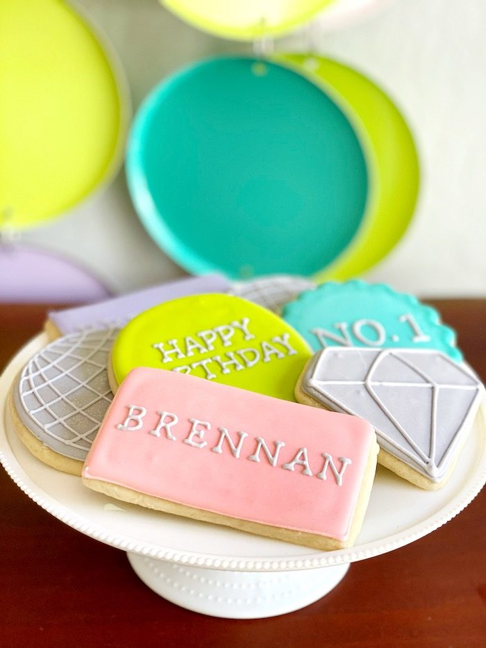 Cookies from an Anthropologie Inspired Bohemian Birthday Party on Kara's Party Ideas | KarasPartyIdeas.com (32)