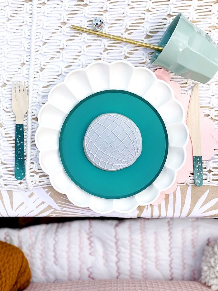Anthropologie Table Setting from an Anthropologie Inspired Bohemian Birthday Party on Kara's Party Ideas | KarasPartyIdeas.com (13)