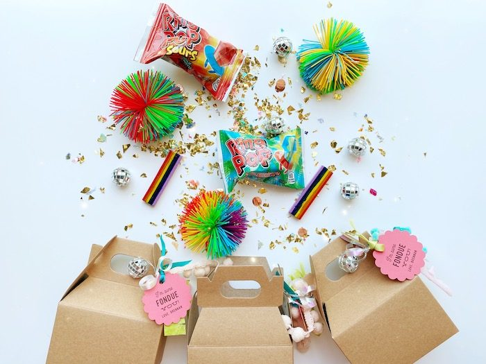 Gable Favor Boxes from an Anthropologie Inspired Bohemian Birthday Party on Kara's Party Ideas | KarasPartyIdeas.com (49)