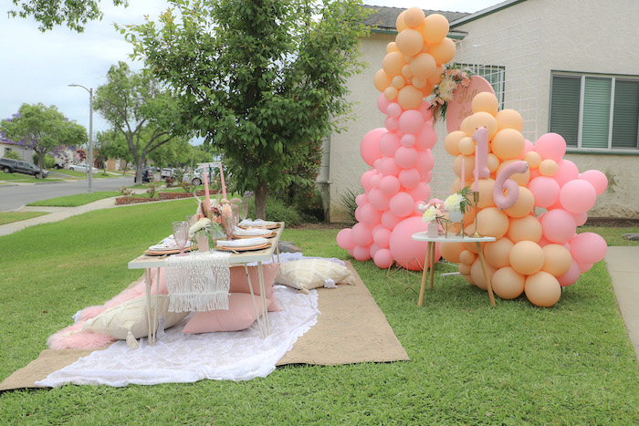 Bohemian Quarantine Drive-By Party on Kara's Party Ideas | KarasPartyIdeas.com (8)