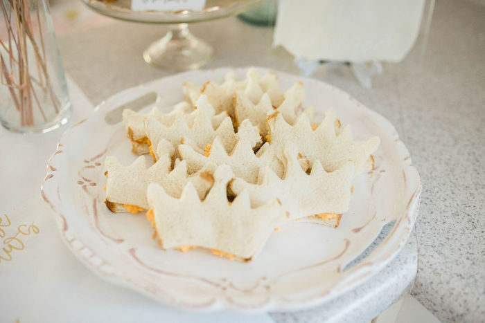 Crown Sandwiches from a Boho Classic Disney World Princess Birthday Party on Kara's Party Ideas | KarasPartyIdeas.com (20)