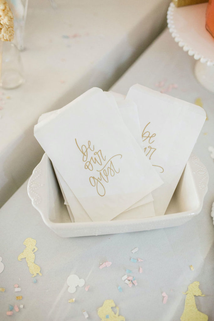 Be Our Guest Snack Sacks from a Boho Classic Disney World Princess Birthday Party on Kara's Party Ideas | KarasPartyIdeas.com (19)