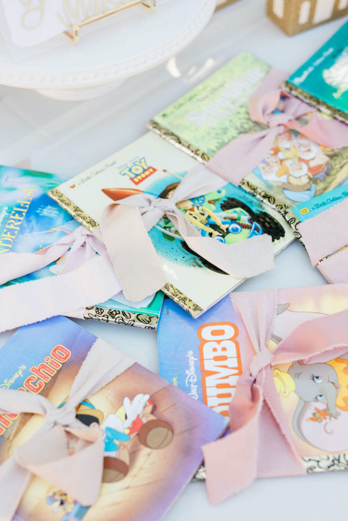 Disney Little Golden Book Favors from a Boho Classic Disney World Princess Birthday Party on Kara's Party Ideas | KarasPartyIdeas.com (32)