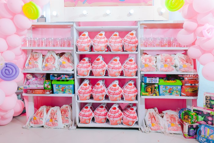 Party Favors from a Dessert World Birthday Party on Kara's Party Ideas | KarasPartyIdeas.com (3)