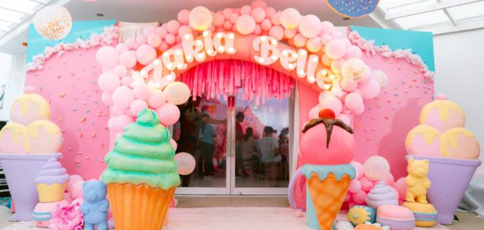 Dessert World Birthday Party on Kara's Party Ideas | KarasPartyIdeas.com (1)