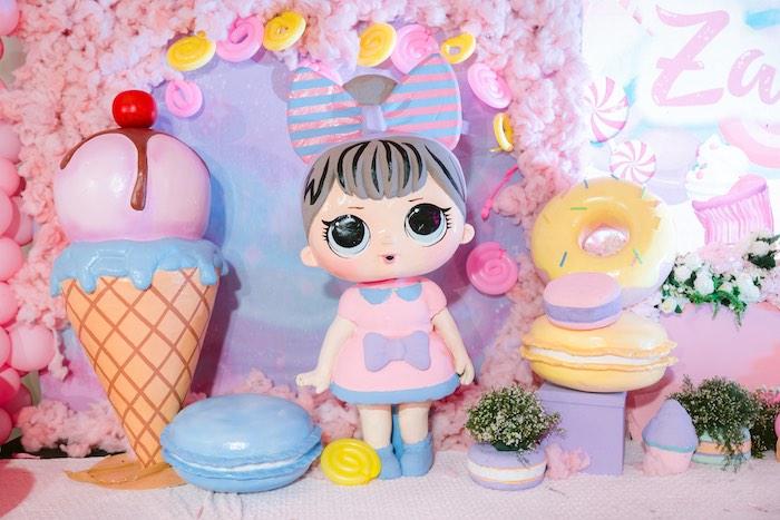 Custom Girl Prop from a Dessert World Birthday Party on Kara's Party Ideas | KarasPartyIdeas.com (30)