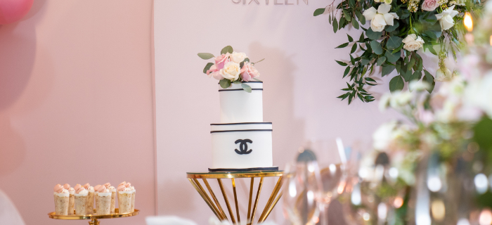 Elegant Chanel Inspired Sweet 16 Dinner Party on Kara's Party Ideas | KarasPartyIdeas.com (1)