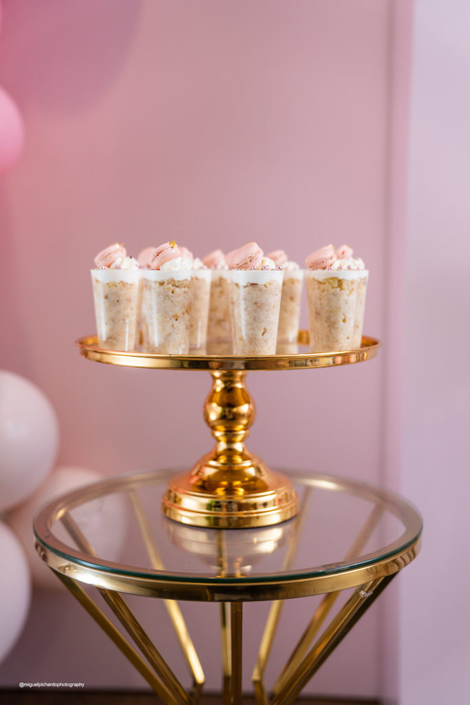 Dessert Shooters from an Elegant Chanel Inspired Sweet 16 Dinner Party on Kara's Party Ideas | KarasPartyIdeas.com (15)