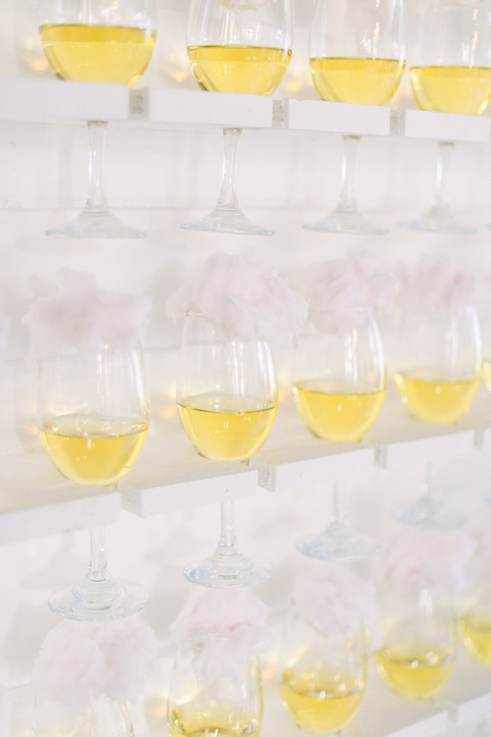 Beverage Wall from an Elegant Floral Baby Shower on Kara's Party Ideas | KarasPartyIdeas.com (8)