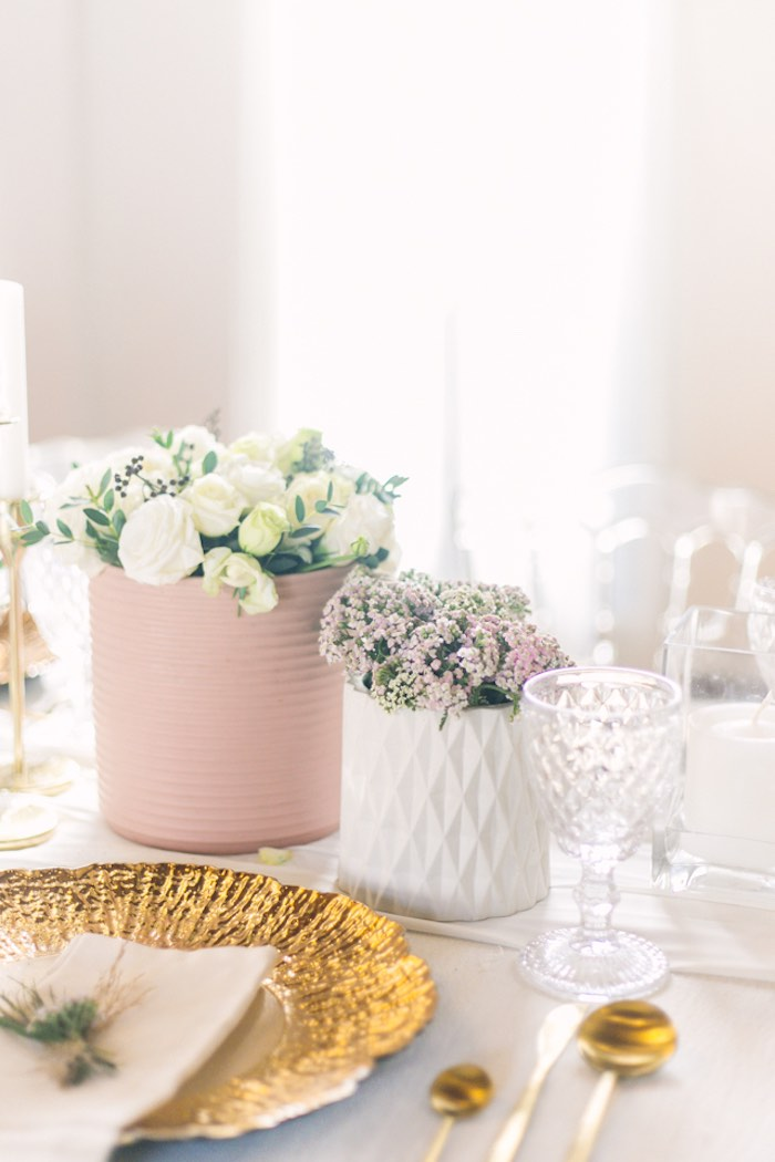 Guest Table Detail + Blooms from an Elegant Floral Baby Shower on Kara's Party Ideas | KarasPartyIdeas.com (26)