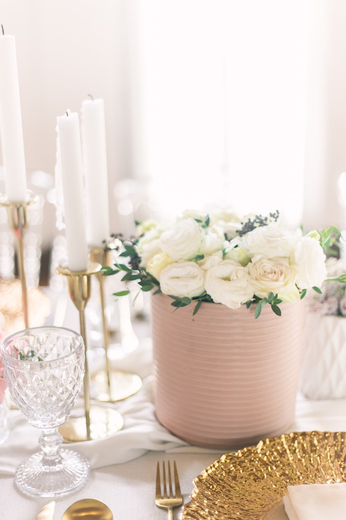 Guest Table Detail + Blooms from an Elegant Floral Baby Shower on Kara's Party Ideas | KarasPartyIdeas.com (22)