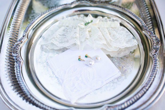 Bridal Accessories from an Elegant Floral Urban Wedding on Kara's Party Ideas | KarasPartyIdeas.com (31)