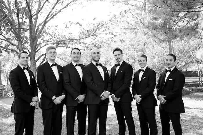 Groomsmen from an Elegant Floral Urban Wedding on Kara's Party Ideas | KarasPartyIdeas.com (25)