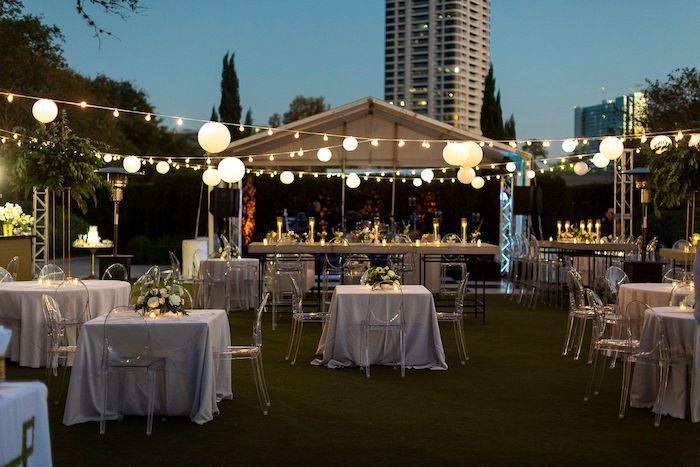 Reception Venue from an Elegant Floral Urban Wedding on Kara's Party Ideas | KarasPartyIdeas.com (24)
