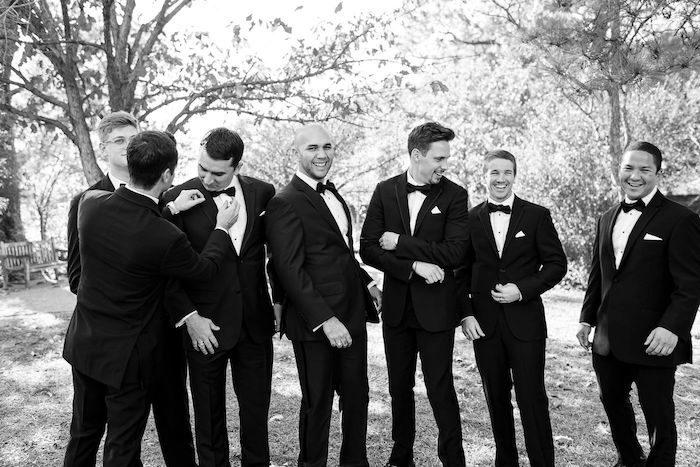 Groomsmen from an Elegant Floral Urban Wedding on Kara's Party Ideas | KarasPartyIdeas.com (13)