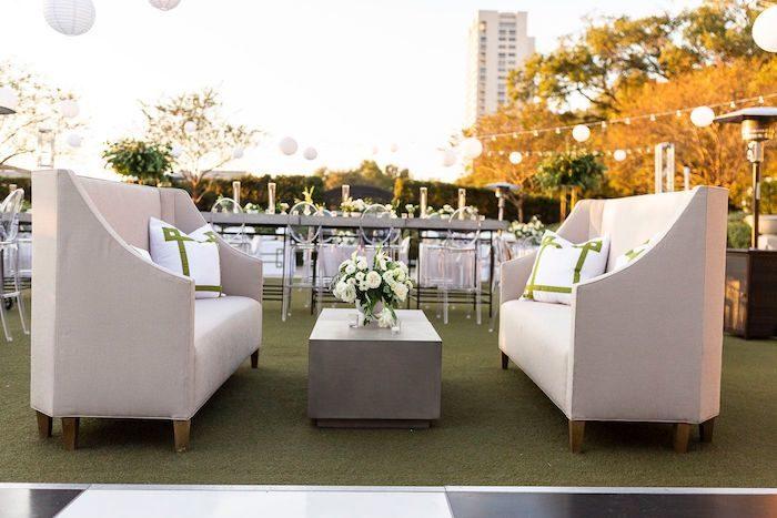 Wedding Reception Venue from an Elegant Floral Urban Wedding on Kara's Party Ideas | KarasPartyIdeas.com (6)
