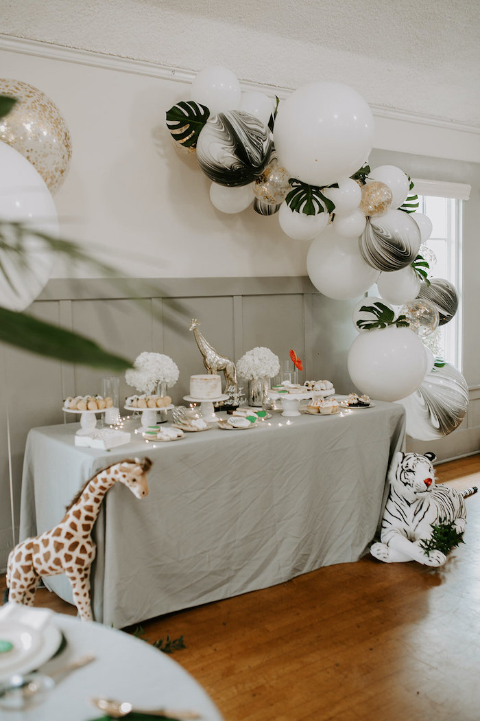 Jungle Safari Baby Shower on Kara's Party Ideas | KarasPartyIdeas.com (7)
