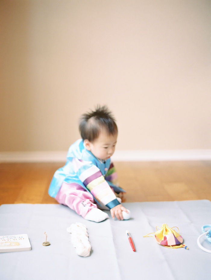 Modern Traditional Korean First Birthday Party on Kara's Party Ideas | KarasPartyIdeas.com (7)