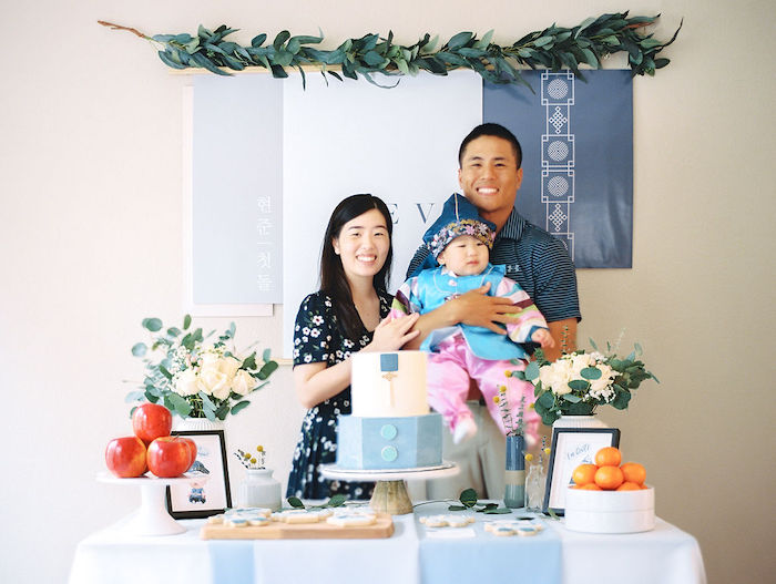 Modern Traditional Korean First Birthday Party on Kara's Party Ideas | KarasPartyIdeas.com (3)