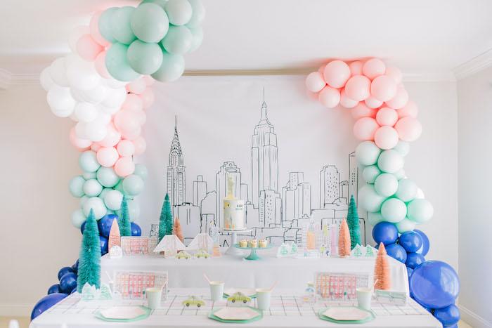 Pastel New York City Birthday Party on Kara's Party Ideas | KarasPartyIdeas.com (37)