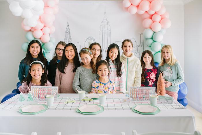 Pastel New York City Birthday Party on Kara's Party Ideas | KarasPartyIdeas.com (4)