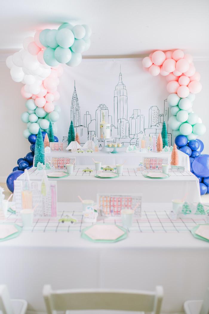 Pastel New York City Birthday Party on Kara's Party Ideas | KarasPartyIdeas.com (35)