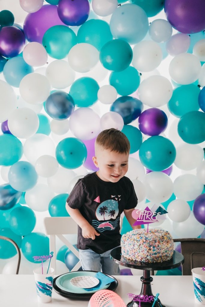 "Retro ""Threenager"" 3rd Birthday Party on Kara's Party Ideas 