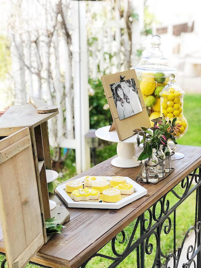 Summer Lemon Baby Shower on Kara's Party Ideas | KarasPartyIdeas.com (21)