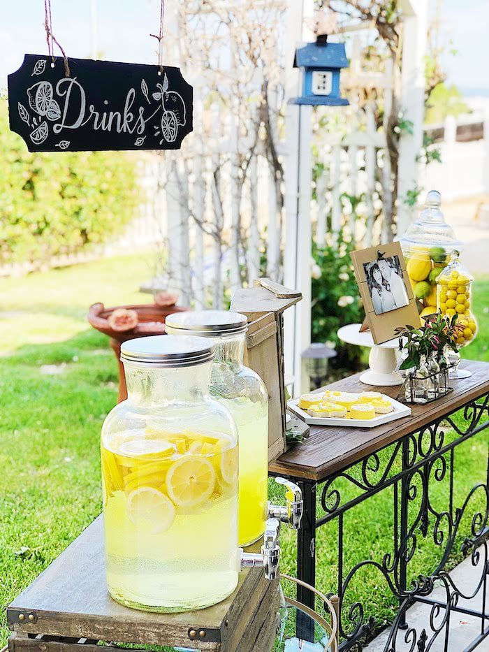 Summer Lemon Baby Shower on Kara's Party Ideas | KarasPartyIdeas.com (19)