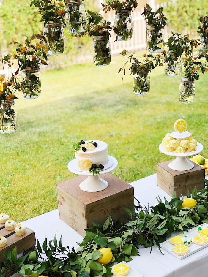 Summer Lemon Baby Shower on Kara's Party Ideas | KarasPartyIdeas.com (7)