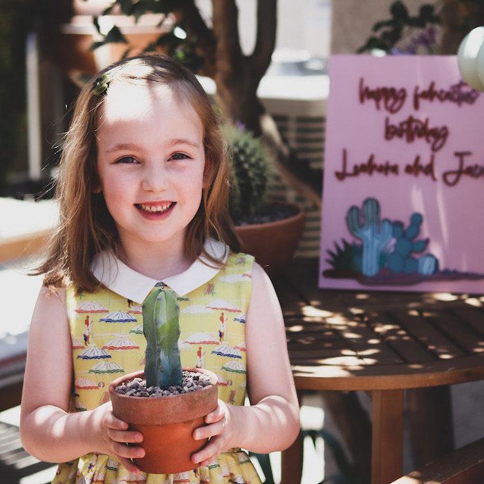 Terra Cotta Cactus Picnic Party on Kara's Party Ideas | KarasPartyIdeas.com (34)