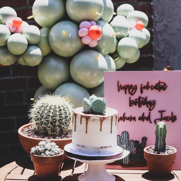Terra Cotta Cactus Picnic Party on Kara's Party Ideas   KarasPartyIdeas.com (6)