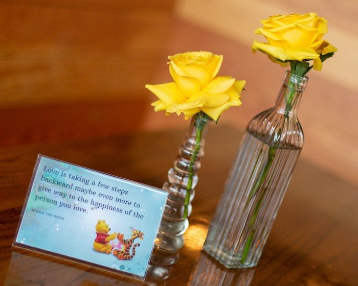 Guest Table Signage from a Winnie the Pooh Baby Shower on Kara's Party Ideas | KarasPartyIdeas.com (21)