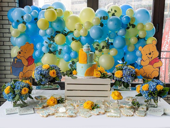 Winnie the Pooh Baby Shower on Kara's Party Ideas | KarasPartyIdeas.com (16)