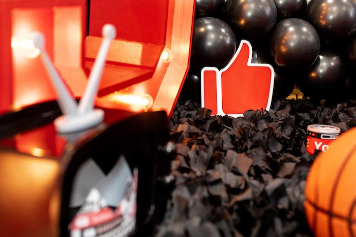 Thumbs Up from a YouTube Inspired QuaranTEEN 13th Birthday Party on Kara's Party Ideas | KarasPartyIdeas.com (33)
