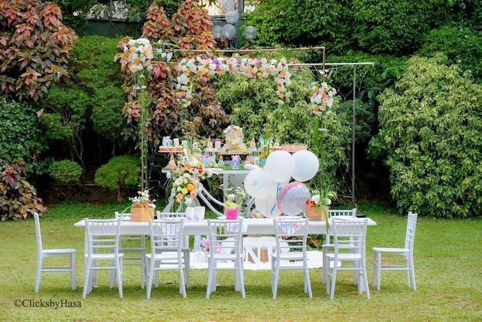 Birthday Garden Party on Kara's Party Ideas | KarasPartyIdeas.com (8)