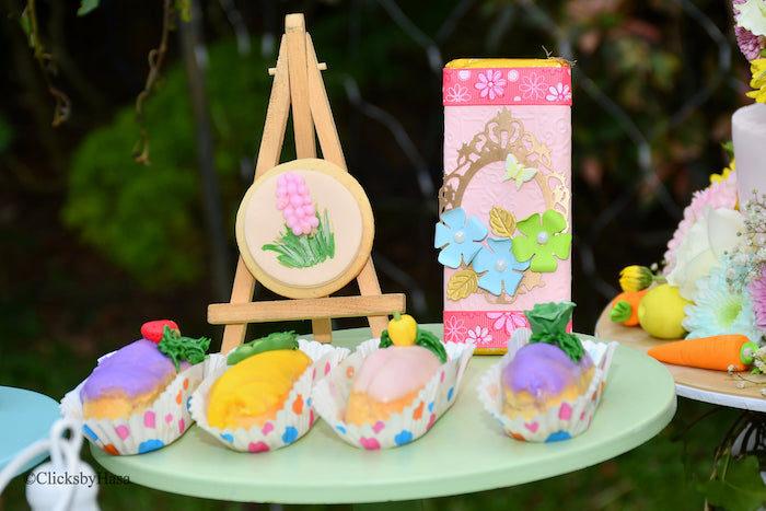 Garden Themed Sweets from a Birthday Garden Party on Kara's Party Ideas | KarasPartyIdeas.com (11)