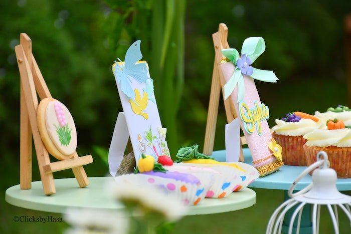 Garden Themed Sweets from a Birthday Garden Party on Kara's Party Ideas | KarasPartyIdeas.com (9)
