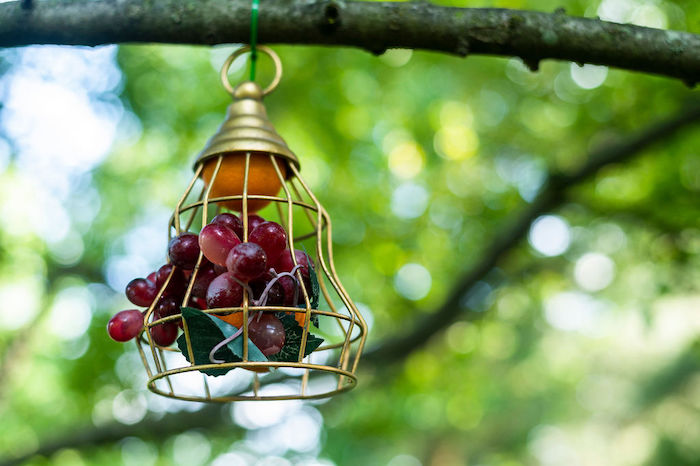 Fruit Lantern from a Boho Woodland 30th Birthday Fête on Kara's Party Ideas | KarasPartyIdeas.com (32)