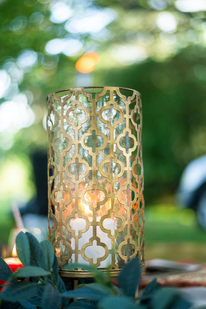 Candle Lantern from a Boho Woodland 30th Birthday Fête on Kara's Party Ideas | KarasPartyIdeas.com (12)